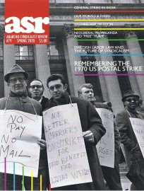 ASR #79 Anarcho-Syndicalist Review Spring 2020