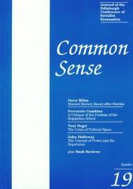 Common Sense # 19