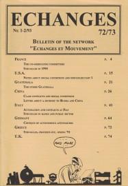 Echanges 72/73