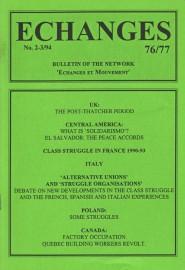 Echanges 76/77