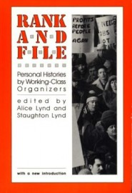 Rank and File - Personal Histories by Working-Class Organisers