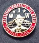 Frank Little / IWW enamel badge