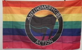 Anti-Homophobe Action Flag