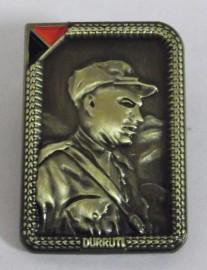 Durruti Badge (Rectangle)