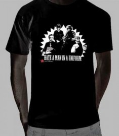 Hate a Man in Uniform T-shirt
