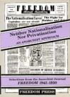 Neither Nationalisation Nor Privatisation